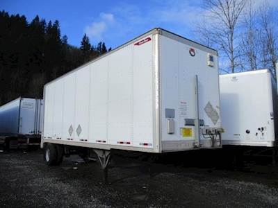2017 Great Dane 28 ft Dry Van Trailer - Spring, Liftgate, Single Axle, Fixed Axle