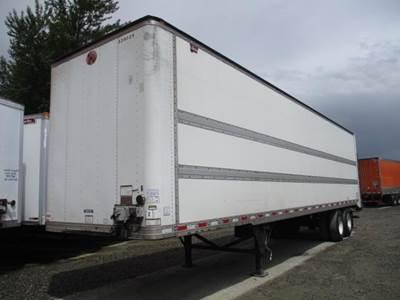 2011 Great Dane FRP ROLL DOOR SPRING RIDE LIFTGATE DELIVERY DRY VA Dry Van Trailer