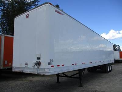 2008 Great Dane 48 ft Dry Van Trailer - Roll up Door, Air Ride, Fixed Spread Axle
