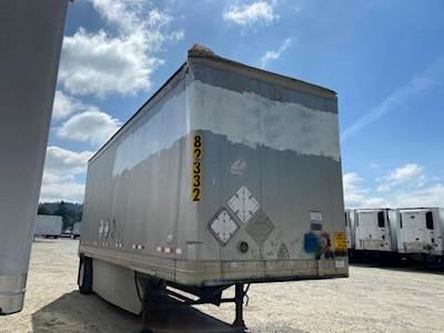 2005 Great Dane 28 ft Dry Van Trailer - Roll up Door, Spring, Single Axle, Fixed Axle