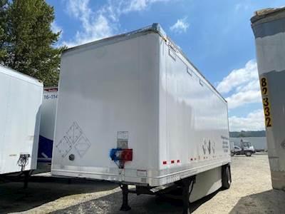 2007 Great Dane 28 ft Dry Van Trailer - Roll up Door, Spring, Single Axle, Fixed Axle