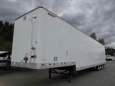 2005 Great Dane TRI AXLE AIR RIDE DROP VAN Dry Van Trailer