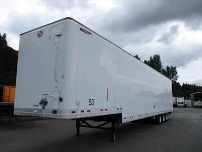 2005 Great Dane TRI-AXLE DROP FRAME ELECTRONICS/SPACE VAN Dry Van Trailer