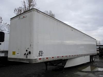 2017 Hyundai 53 ft Dry Van Trailer - Swing Door, Air Ride, Sliding Axle