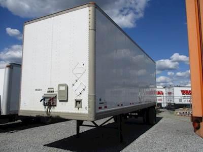 2007 Manac SWING DOOR AIR RIDE DRY VAN Dry Van Trailer