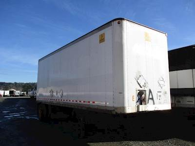 2000 Road Systems 28 ft Dry Van Trailer - Roll up Door, Spring, Single Axle, Fixed Axle