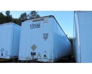 Stoughton Roll Door Air Ride Postal Spec Dry Van Dry Van Trailer