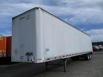 1992 Trailmobile 48 ft Dry Van Trailer - Roll up Door, Spring, Liftgate, Sliding Axle