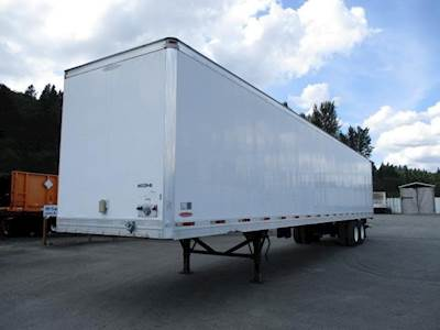 2009 Trailmobile ADVANTAGE ROLL DOOR LIFT GATE AIR RIDE DRY VAN Dry Van Trailer
