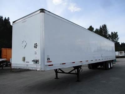 2009 Trailmobile ADVANTAGE ROLL DOOR LOW CUBE DRY VAN Dry Van Trailer