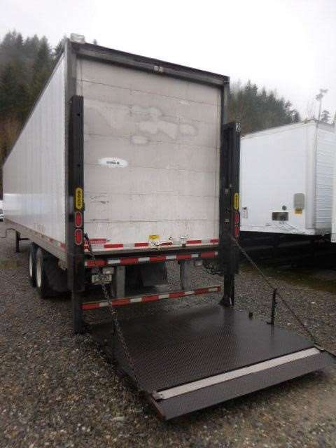 Air Door Lifts : Trailmobile air ride roll door lift gate dry van