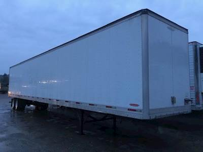 2009 Trailmobile 53 ft Dry Van Trailer - Roll up Door, Air Ride, Sliding Axle