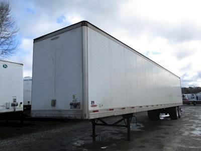 2009 Trailmobile 53 ft Dry Van Trailer - Roll up Door, Air Ride, Sliding Axle