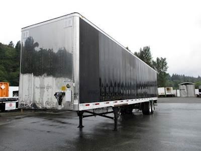 2012 UTILITY 4000D-X SWING DOOR DRY VAN WITH SHINEY FRONT Dry Van Trailer