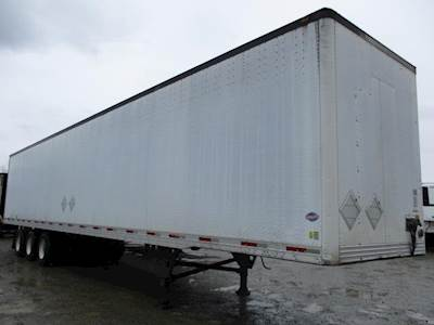 2004 UTILITY 4000DX 53 ft Dry Van Trailer - Swing Door, Air Ride, Tri Axle, Sliding Axle