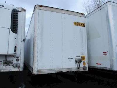1998 UTILITY 53 ft Dry Van Trailer - Roll up Door, Spring, Sliding Axle