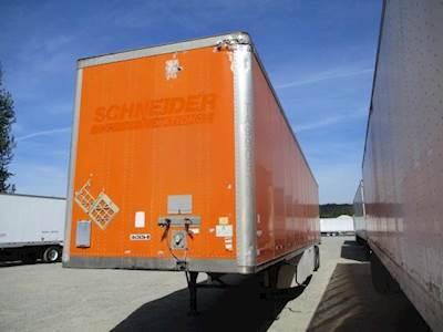 2009 Wabash 53 ft Dry Van Trailer - Swing Door, Spring, Sliding Axle