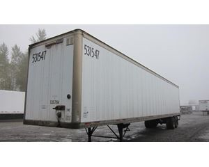 Wabash Air Ride Roll Door Postal Spec Dry Van Dry Van Trailer