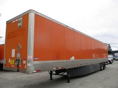 2011 Wabash DuraPlate HD 53 ft Dry Van Trailer - Swing Door, Spring, Sliding Axle