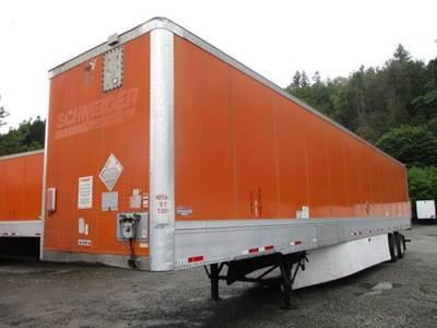2011 Wabash HD DURAPLATE SPRING RIDE ALUMINUM ROOF Dry Van Trailer