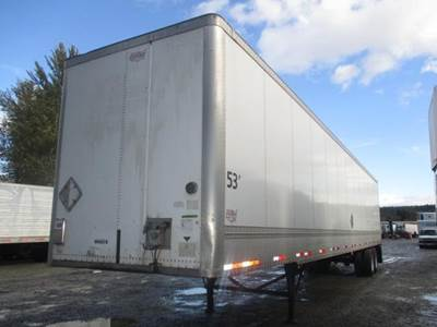2011 Wabash HD DURAPLATE SPRING RIDE DRY VAN Dry Van Trailer