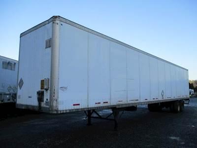 2003 Wabash 53 ft Dry Van Trailer - Swing Door, Air Ride, Single Axle, Sliding Axle