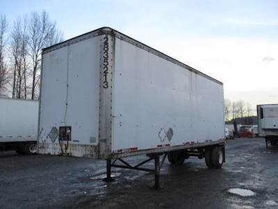 1995 Wabash ROLL DOOR DRY VAN TRANSLUCENT ROOF Dry Van Trailer