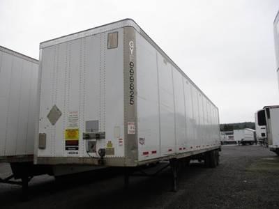 2011 Wabash ROLL DOOR LIFTGATE SPRING RIDE ALUMINUM ROOF Dry Van Trailer