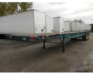 Alloy Trailers Outside frame Lead Flatbed Flatbed Trailer