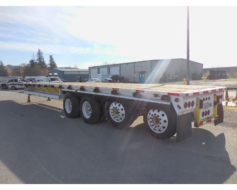 25k Lift Axle For Trailer : Alloy trailers quad axle combo flatbed with lift