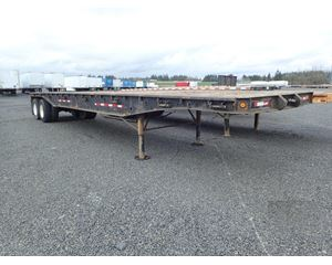 Comet Outside Frame Lead Flatbed Flatbed Trailer