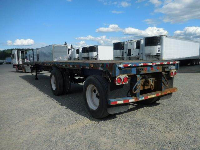 1995 Dorsey SPREAD/TRI-AXLE- 45' FLATBED WITH 3RD LIFT AXLE Flatbed Trailer