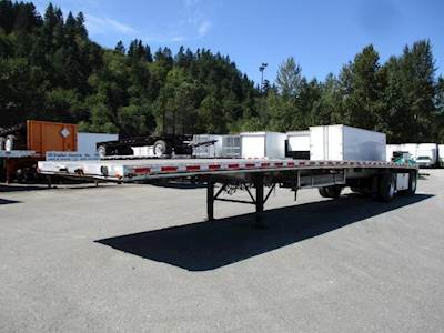 2008 East BST ALL ALUMINUM 102 WIDE FLATBED Flatbed Trailer