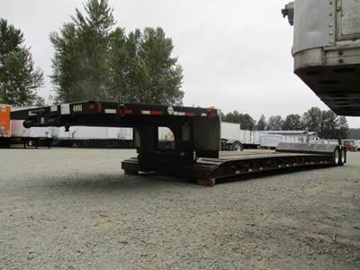 2006 Fontaine 48x102 Steel Flatbed Trailer - Air Ride