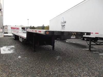 2013 Fontaine REAR AXLE SLIDE COMBO STEP DECK Flatbed Trailer