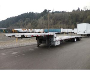 "JET Combo ""Low Rider"" Step Deck Spread Axle Flatbed Trailer"
