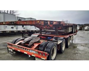 Magnum Step Deck Low Rider- Super B Flatbeds Flatbed Trailer
