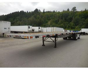 Reinke Combo - Spread Axle flatbed Flatbed Trailer