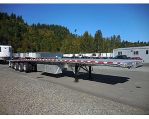 Reitnouer Big Bubba- All Aluminum- Air Ride- Quad Axle Fltabed Flatbed Trailer