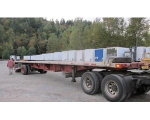 UTILITY Combo Spread Axle Flatbed Flatbed Trailer