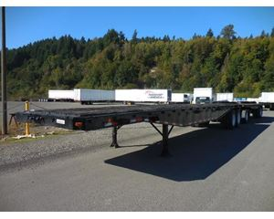 UTILITY Outside frame lead flatbed Flatbed Trailer