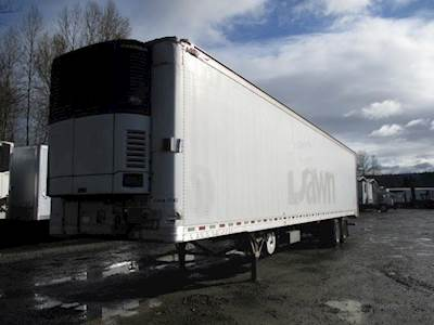 2013 Great Dane AIR RIDE LIFT GATE MULTI TEMP REEFER WITH RAIL LIF Reefer Trailer