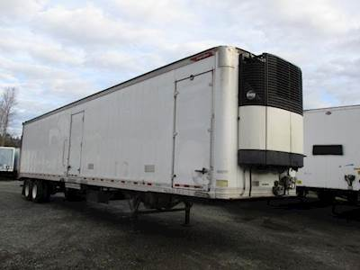 2014 Great Dane AIR RIDE MULTI-TEMP REEFER WITH LIFTGATE CARRIER U Reefer Trailer