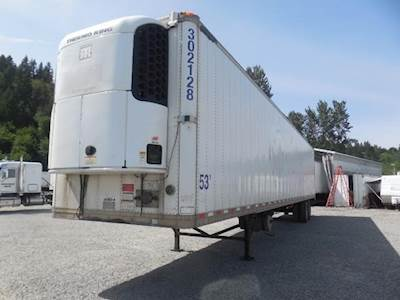 2009 Great Dane CLASSIC ROLL DOOR TRI TEMP REEFER Refrigerated Trailer