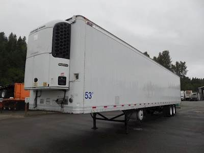 2010 Great Dane CLASSIC ROLL DOOR TRI TEMP REEFER Refrigerated Trailer