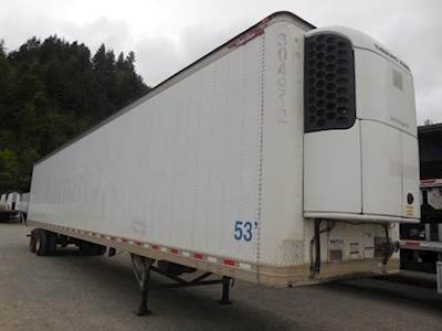 2012 Great Dane CLASSIC ROLL DOOR TRI TEMP REEFER Refrigerated Trailer