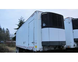 Great Dane Low Cube Roll Door Reefer Lift Gate Van Refrigerated Trailer