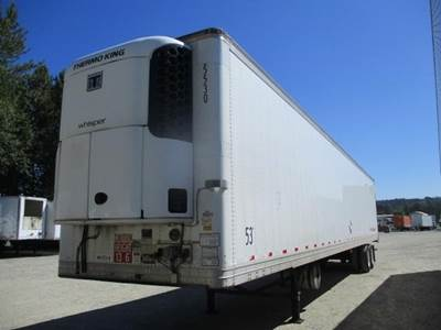2010 Great Dane ROLL DOOR AIR RIDE REEFER WITH THERMOKING UNIT Reefer Trailer