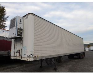 Timpte Roll Door Reefer with Carrier Electric Stand By Refrigerated Trailer