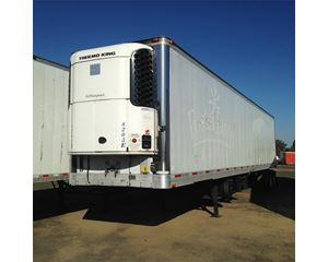 Trailmobile ROLL DOOR REEFER- 2009 TK STAND BY UNIT Refrigerated Trailer